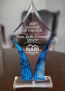 2020 NARI Member of the Year